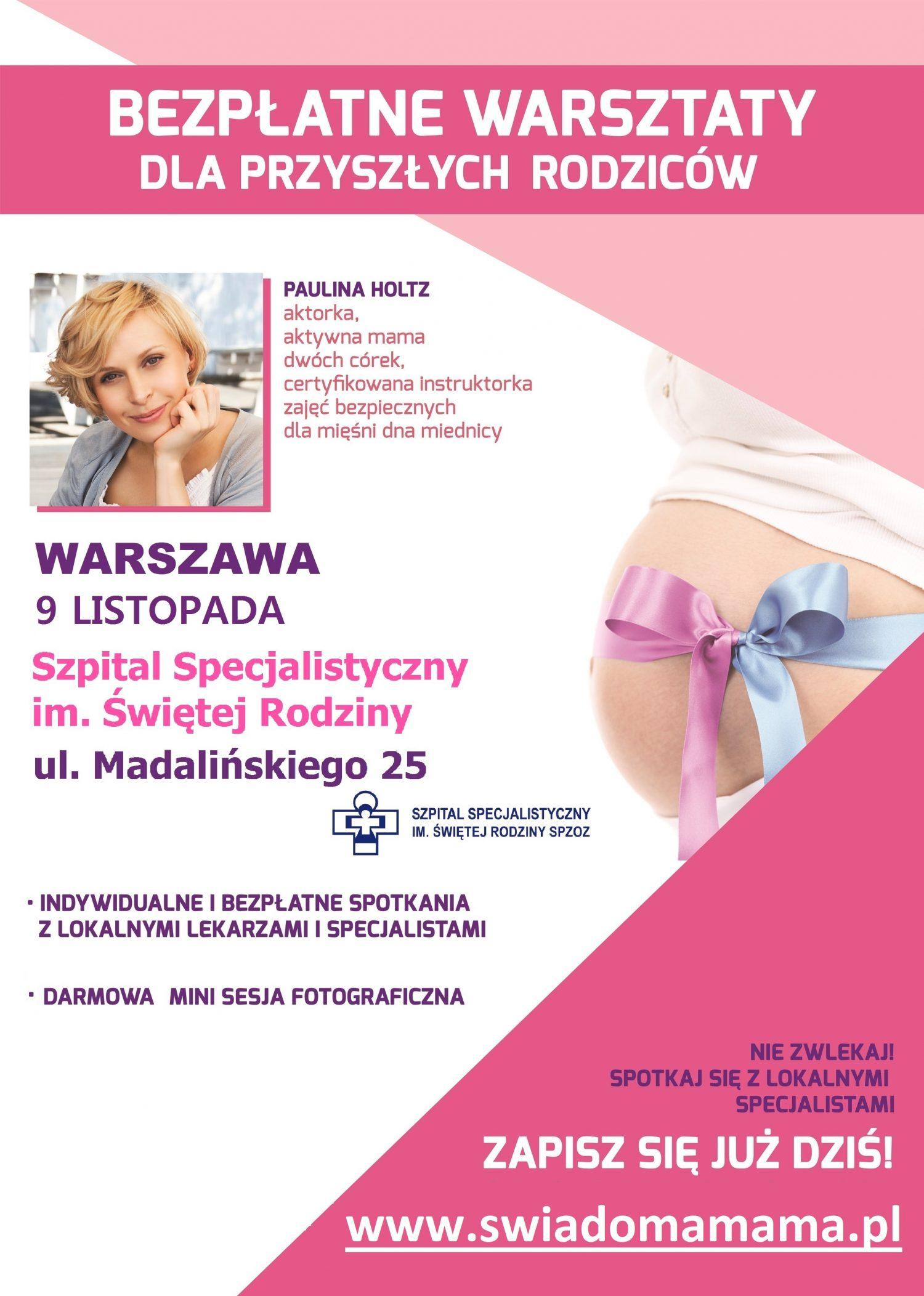 Plakat Warszawa